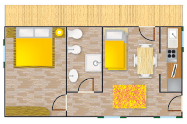 Mini Appartamenti Bilocale